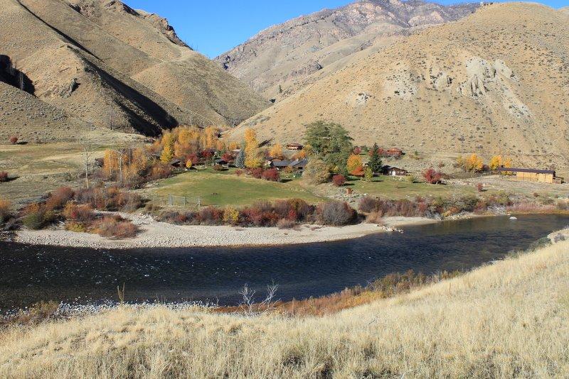 Flying Resort Ranches Idaho