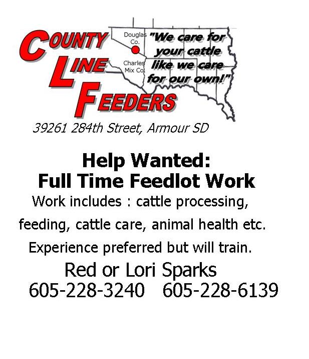 County Line Feeders - South Dakota
