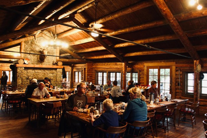 Paradise Ranch WY - Dining