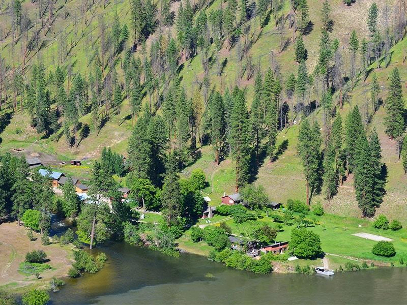 Shepp Ranch  Aerial