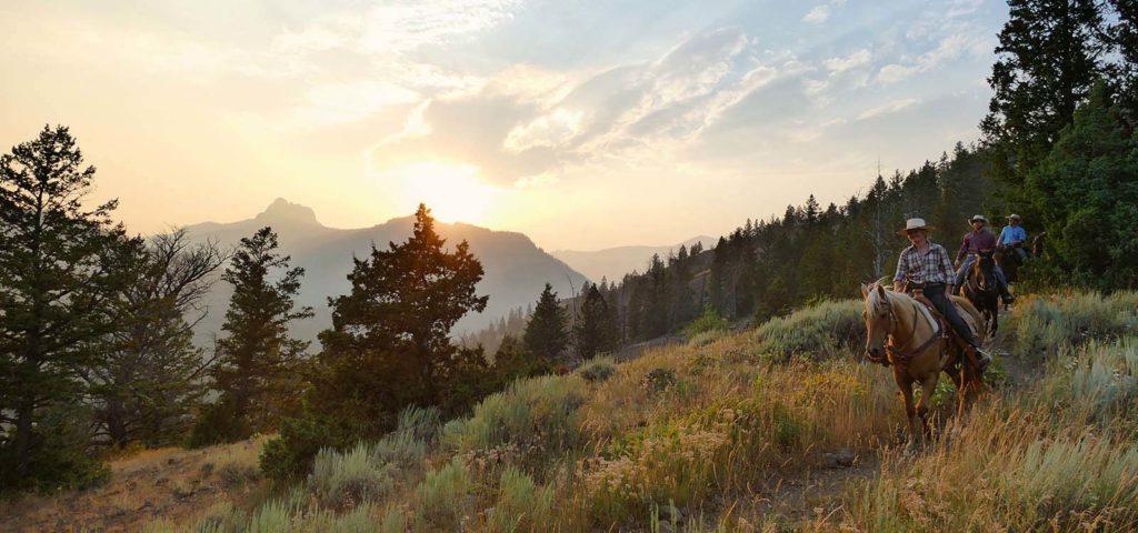 Shoshone Lodge & Guest Ranch Horseback Riding